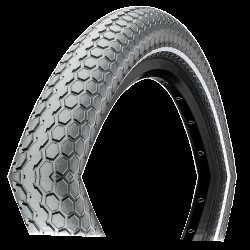 "Покрышка Continental Ride Cruiser Reflex 28""x2.00, Wire, ExtraPuncture Belt черная"
