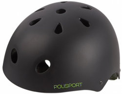 Велосипедный шлем Polisport URBAN RADICAL black matte-green