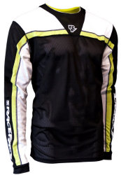 Веломайка Race Face AMBUSH JERSEY LS black-lime