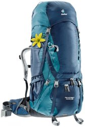 Рюкзак Deuter Aircontact 70 + 10 SL цвет 3354 midnight-denim