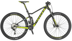 Велосипед Scott SPARK 970 29 black-lime