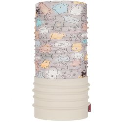 Шарф Buff Baby Polar Bears Fog Grey