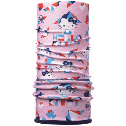 Шарф многофункциональный Buff Hello Kitty Child Polar Mountain Light Pink Navy