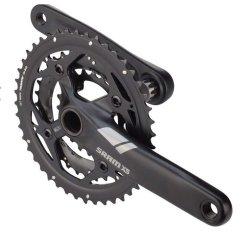 Шатуны Sram X5 GXP 44-32-22T, 175mm 9 Speed черные