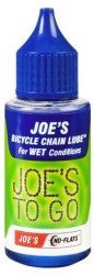 Смазка для цепи велосипеда Joes TO GO FOR WET CONDITIONS 30 ml