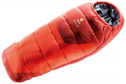 Спальник Deuter Little Star EXP левая молния цвет 9503 papaya-lava 3720015 9503 1