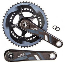 Шатуны Sram AM FC FORCE22 YAW 1725 50/34 NO GXP
