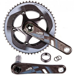 Шатуны Sram FORCE22 BB30 165 50-34 YAW bearings not included
