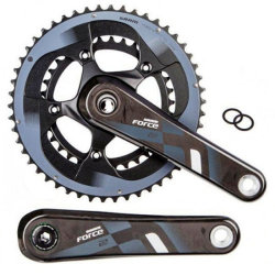 Шатуны Sram FORCE22 GXP 177,5 53/39 YAW GXP cups not included