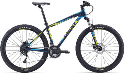 Велосипед Giant TALON 3 27.5 blue-yellow