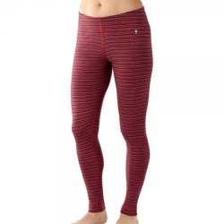 Термоштаны Smartwool Women's Merino 250 Baselayer Pattern Bottom Hibiscus Heather SW SS227.488