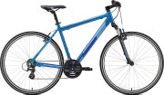Велосипед Merida CROSSWAY 10-V silk sea blue silver-dark blue