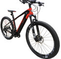 Электровелосипед SAVA KNIGHT 9.0 M800-DT22S 27,5 black-red