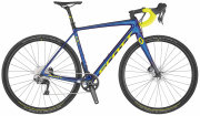 Велосипед Scott Addict CX RC blue/yellow