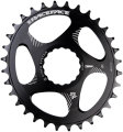 Звезда RaceFace Chainring, Cinch, DM, oval, blk