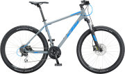 Велосипед KTM Chicago Disc epicgrey matt (blue)