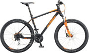 Велосипед KTM Chicago Disc black matt (orange)