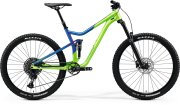 Велосипед Merida One-Forty 400 29 light green/glossy blue