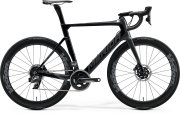 Велосипед Merida Reacto Disc Force Edition glossy black/gilttery silver