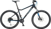 Велосипед KTM Ultra Fun black matt (grey+blue)