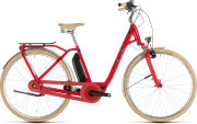 Велосипед Cube ELLY CRUISE HYBRID 400 red-mint