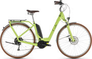 Велосипед Cube ELLY RIDE HYBRID 500 green-black