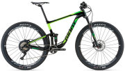 Велосипед Giant ANTHEM ADVANCED 1 29 black-green