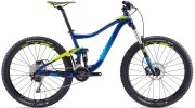 Велосипед Giant TRANCE 3 27.5 blue-yellow