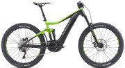 Электровелосипед Giant TRANCE E+ 3 PRO 25km/h 27.5+ green-black