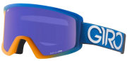 Маска горнолыжная Giro BLOK FLASH flame-blue dual grey purple 25