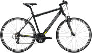 Велосипед Merida CROSSWAY 10-V matt black yellow