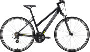 Велосипед Merida CROSSWAY L 10-V matt black yellow