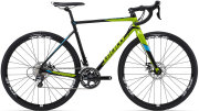 Велосипед Giant TCX SLR 1 black-green