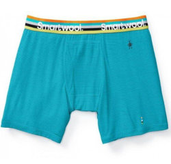 Трусы Smartwool Merino 150 Pattern Boxer Brief Sea Blue