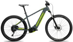 Велосипед Corratec E-Power X-Vert Race Trinity Gent Gray/Neon Green/Dark Blue
