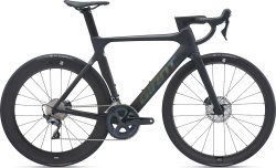 Велосипед Giant Propel Advanced 1 Disc Matte Carbon/Gloss Rainbow