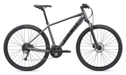 Велосипед Giant Roam 2 Disc charcoal/black