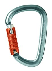 Карабин Petzl William triact-lock grey
