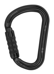 Карабин Petzl William triact-lock black