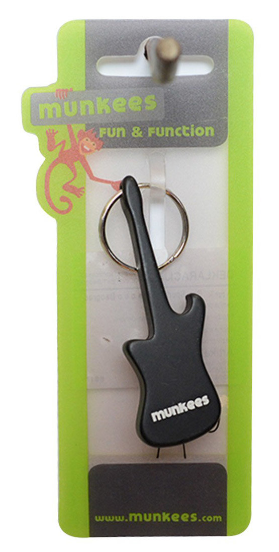 Брелок-открывалка Munkees 3418 GUITAR black 1 3418 GUITAR green