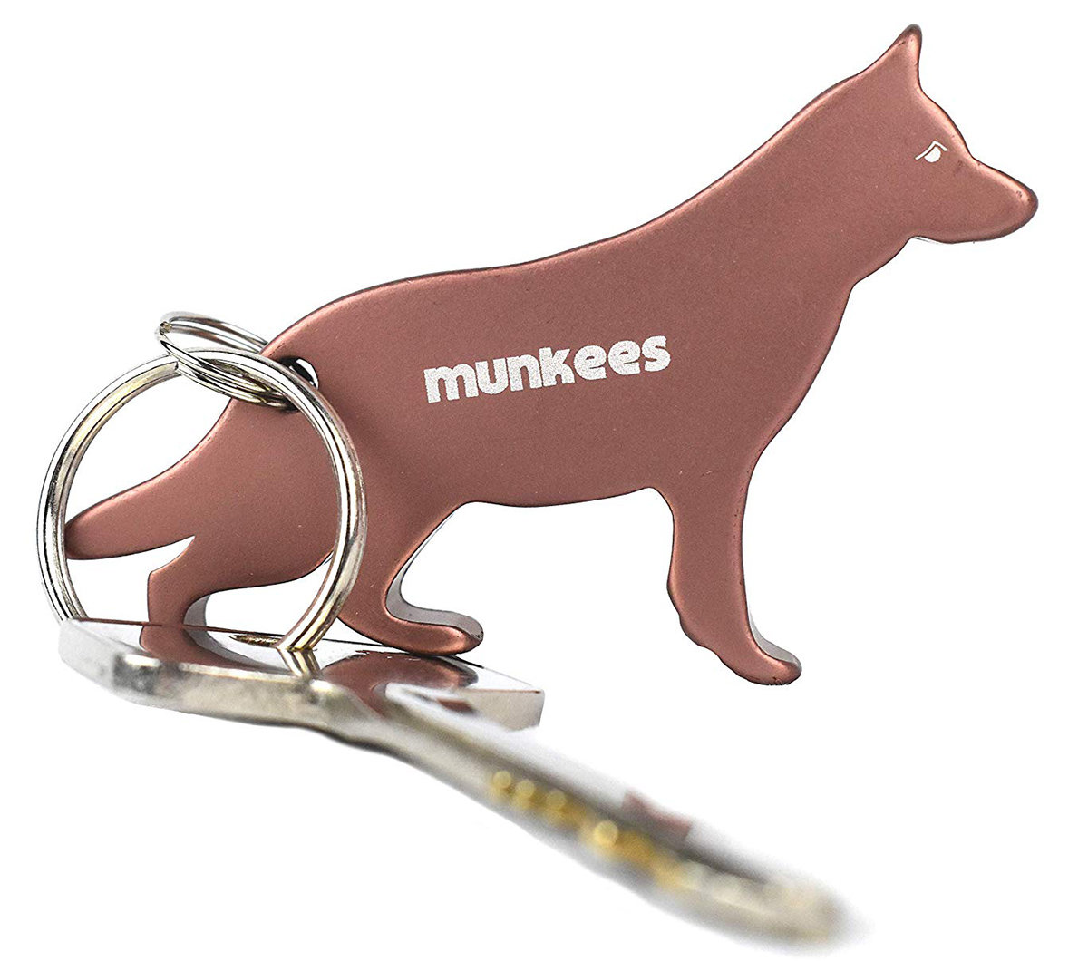 Брелок-открывалка Munkees 3454 GERMAN SHEPHERD black 1 3454 GERMAN SHEPHERD bronze 3454