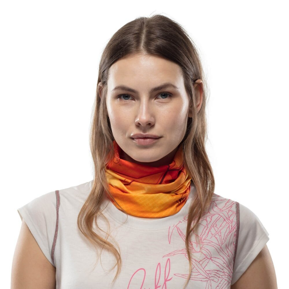 Бандана Buff Coolnet UV+ Vivid Dusty Orange 1 Бандана Buff Coolnet UV+ Vivid Dusty Orange BU 119347.218.10.00