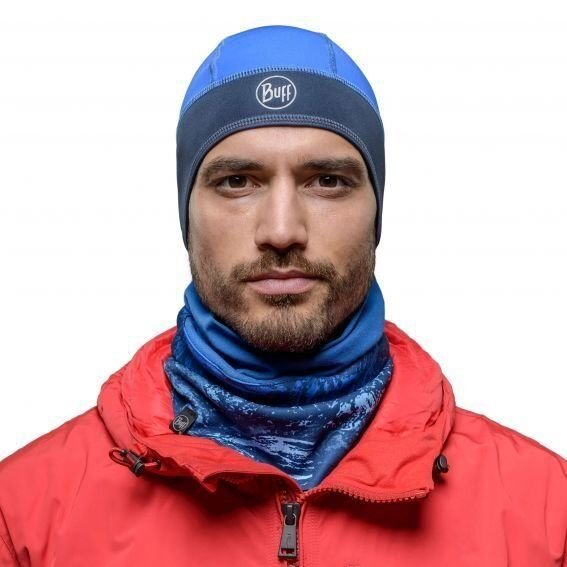 Бандана Buff Windproof Neckwarmer Mountain Bits Blue 1 Бандана Buff Windproof Neckwarmer Mountain Bits Blue