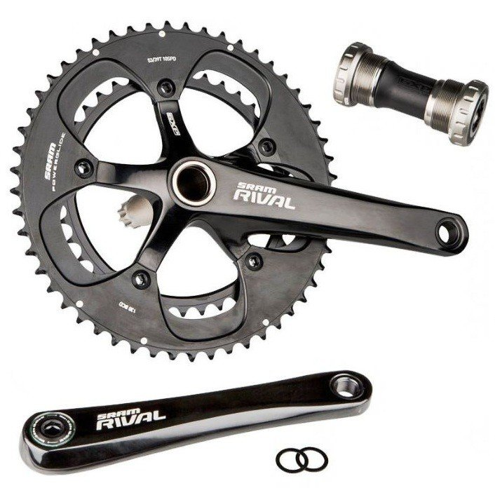 Шатуны Sram RIVAL OCT GXP CUPS 68 175 50/34 1 RIVAL OCT GXP CUPS 68 175 50/34 00.6115.601.080
