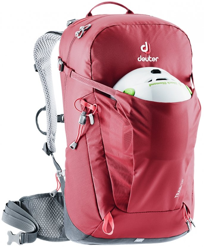Рюкзак Deuter Trail 26 цвет 7403 black-graphite 1 Рюкзак 1Deuter Trail 26 цвет 3235 steel-khaki 3440319 7403