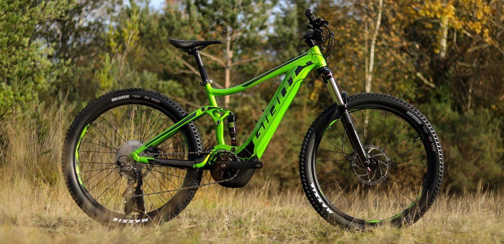 Велосипед Giant STANCE E+ 2 POWER 25km/h 27.5+ green 1 STANCE E+ 2 POWER 25km/h 27.5+ green 90073015S