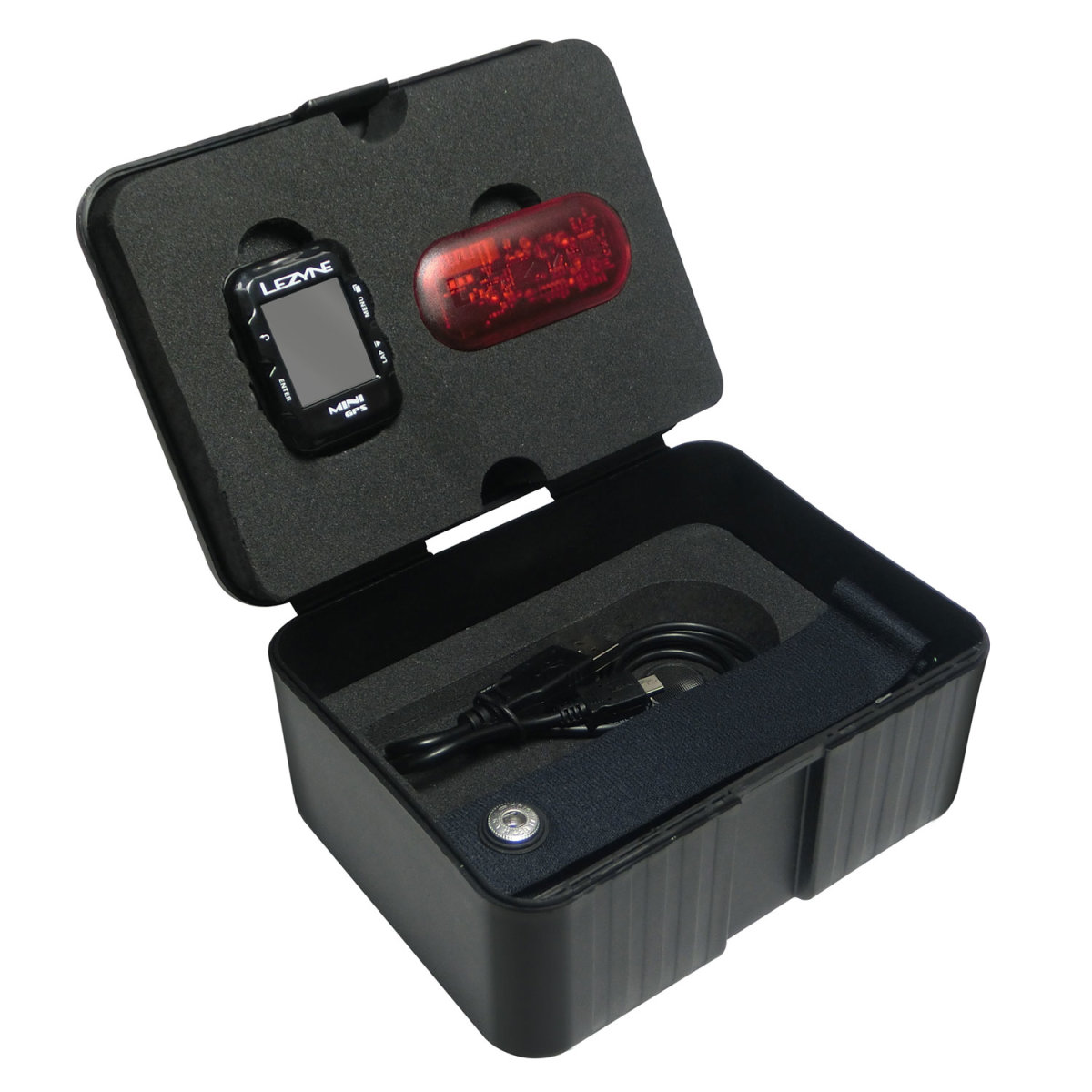 Компьютер Lezyne Mini GPS HR Loaded черный 10 Mini GPS HR Loaded 4712805 987269