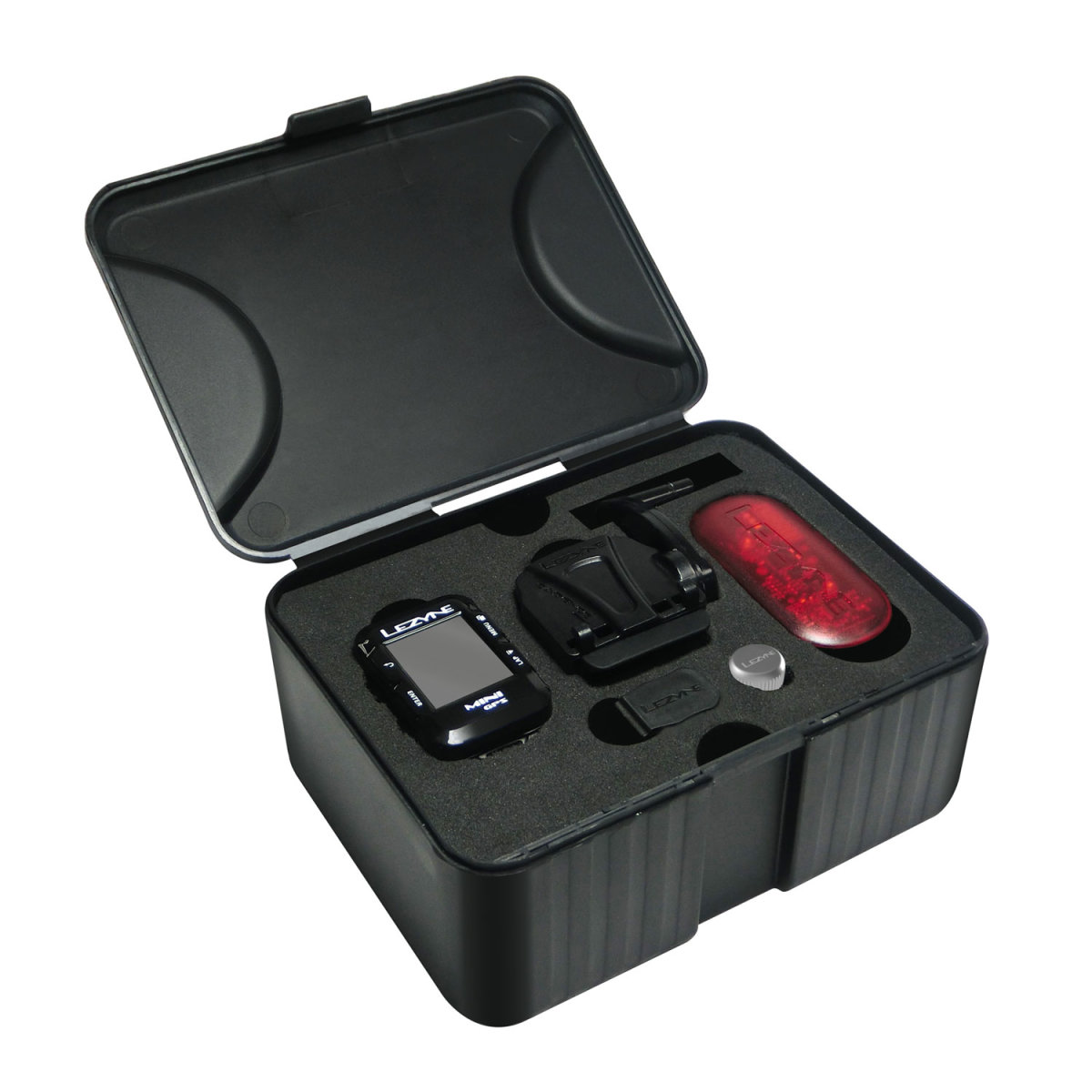 Компьютер Lezyne Mini GPS HR Loaded черный 11 Mini GPS HR Loaded 4712805 987269