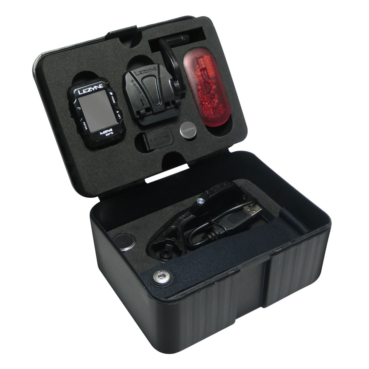 Компьютер Lezyne Mini GPS HR Loaded черный 12 Mini GPS HR Loaded 4712805 987269