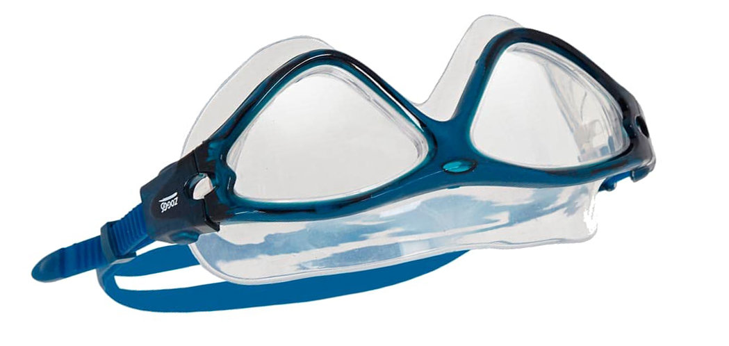 Очки-маска Zoggs Tri-Vision Mask Clear / T.Blue 16 302919